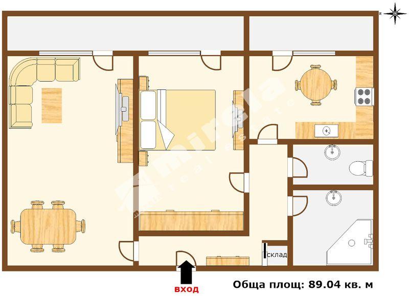For Sale 1 Br Apartment City Of Varna Levski