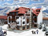 Продава се парцел с одобрен проект и разрешение за строеж на жилищна сграда в гр. Банско, РЗП 2281кв.м, Площ на парцела 550кв.м,   € 230000