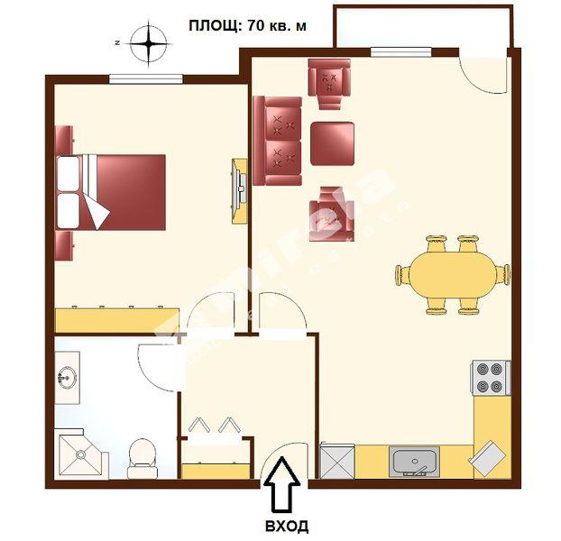 For Sale 1 Bedroom City Of Sofia Mladost 2 Sv Kipriyan