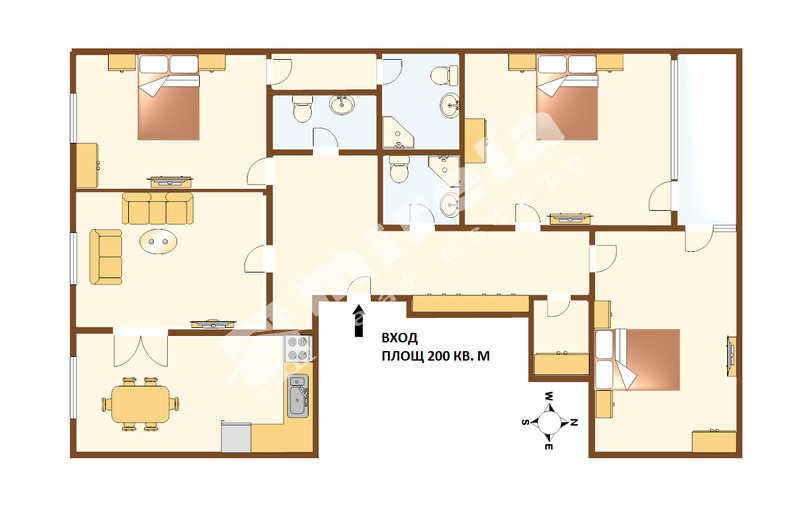 For Sale 3 Bedrooms City Of Sofia Center 200 Sq M