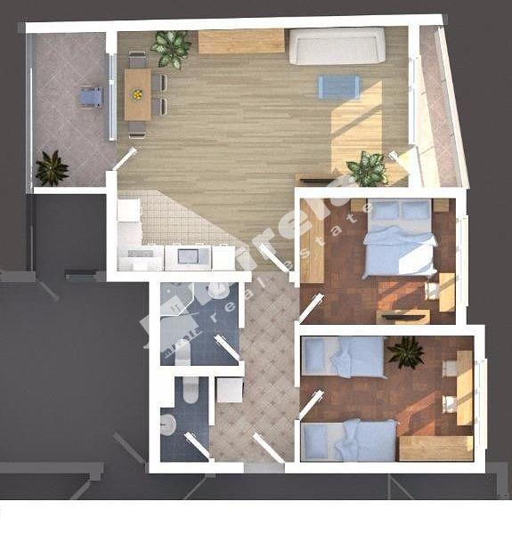 For Sale 2 Bedrooms City Of Sofia Strelbishte 122 57 Sq M