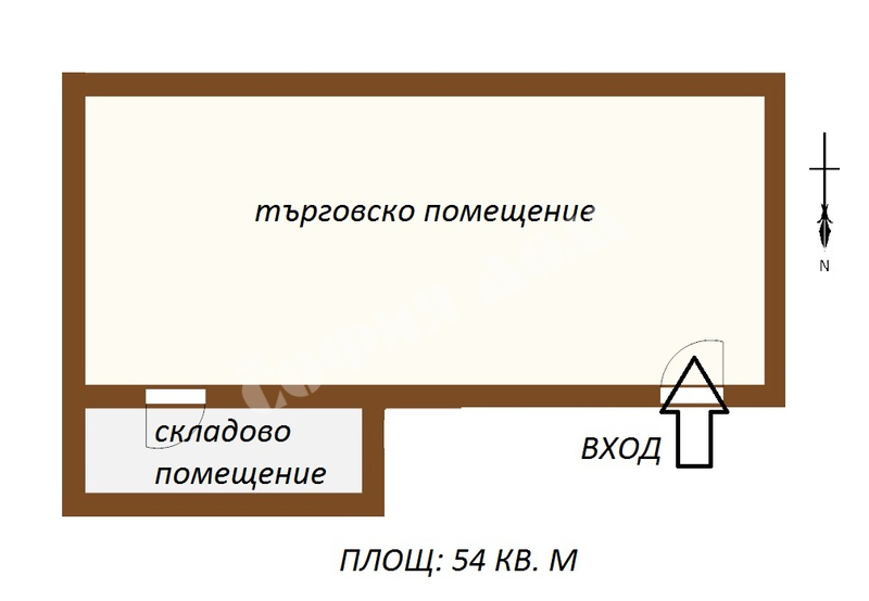 For Rent Shop City Of Sofia Center Neofit Rilski St 54