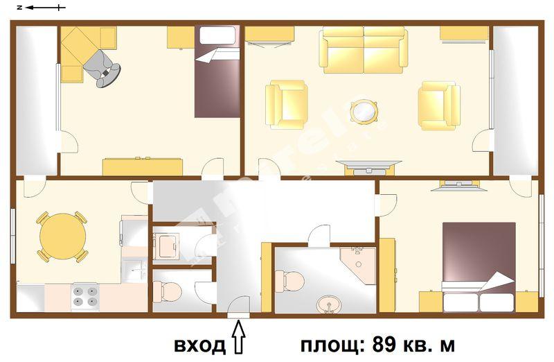 For Sale 2 Bedrooms City Of Bourgas Bratya Miladinovi