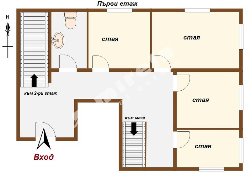 For Rent House City Of Sofia Center Knyaginya Mariya