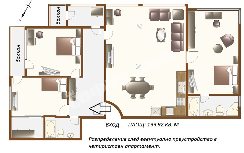 For Sale 2 Bedrooms City Of Sofia Lozenets 199 42 Sq M