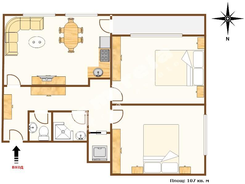 For Sale 2 Bedrooms City Of Varna Sveti Nikola 107 Sq M